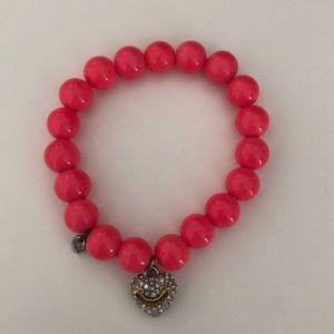 Juicy couture pink bracelet